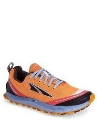 Chaussures de sport orange