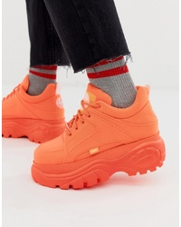 Chaussures de sport orange Buffalo