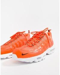 Chaussures de sport orange Nike