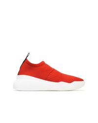 Chaussures de sport orange Stella McCartney