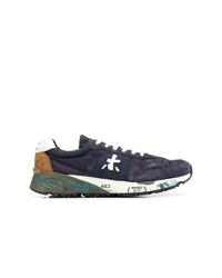 Chaussures de sport pourpre foncé Premiata