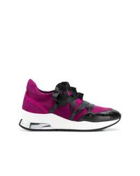 Chaussures de sport pourpres