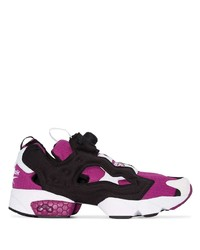 Chaussures de sport pourpres Reebok