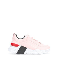 Chaussures de sport roses MSGM