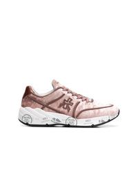 Chaussures de sport roses Premiata
