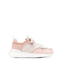 Chaussures de sport roses Tod's