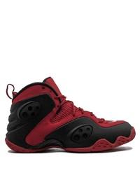 Chaussures de sport rouge et noir Nike