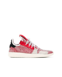 Chaussures de sport rouges Adidas By Pharrell Williams