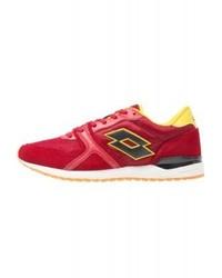 Chaussures de sport rouges LOTTO