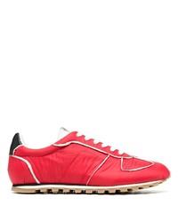 Chaussures de sport rouges Maison Margiela