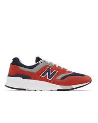 Chaussures de sport rouges New Balance