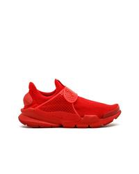 Chaussures de sport rouges Nike