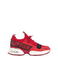 Chaussures de sport rouges Philipp Plein