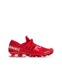 Chaussures de sport rouges Plein Sport