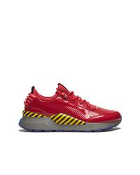 Chaussures de sport rouges Puma