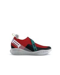 Chaussures de sport rouges Swear
