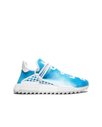 Chaussures de sport turquoise Adidas By Pharrell Williams
