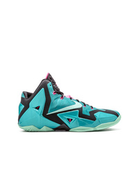 Chaussures de sport turquoise Nike