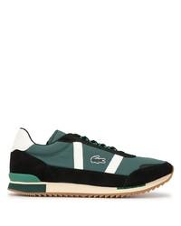 Chaussures de sport vert foncé Lacoste