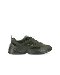 Chaussures de sport vert foncé Nike
