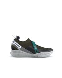 Chaussures de sport vert foncé Swear