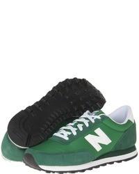 Chaussures de sport vertes