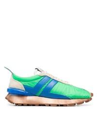 Chaussures de sport vertes Lanvin
