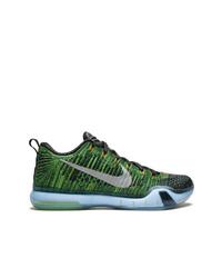 Chaussures de sport vertes Nike