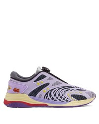 Chaussures de sport violet clair Gucci