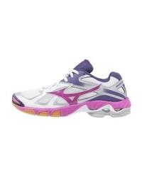 Chaussures de sport violettes claires Mizuno