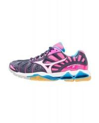 Chaussures de sport violettes Mizuno