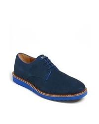 Chaussures derby bleu marine