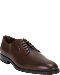 Chaussures derby brunes foncees original 8629930