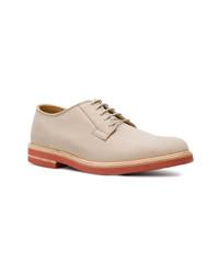 Chaussures derby en cuir beiges Marc Jacobs