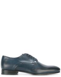 Chaussures derby en cuir bleues Kenzo