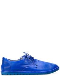 Chaussures derby en cuir bleues Marsèll