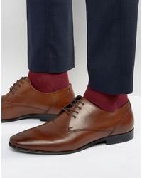 Chaussures derby en cuir bordeaux Aldo