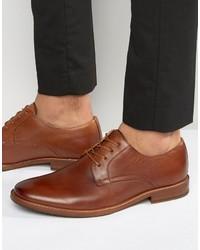 Chaussures derby en cuir brunes Aldo