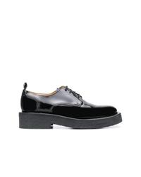 Chaussures derby en cuir épaisses noires AMI Alexandre Mattiussi
