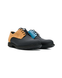 Chaussures derby en cuir marron clair Camper
