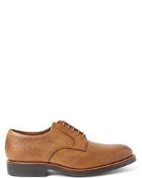Chaussures derby en cuir marron clair Grenson