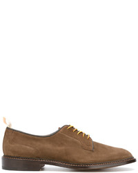 Chaussures derby en cuir marron clair Tricker's