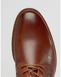 Chaussures derby en cuir marron Aldo