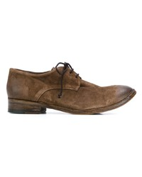 Chaussures derby en cuir marron The Last Conspiracy