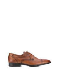 Chaussures derby en cuir marron Lloyd