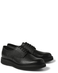 Chaussures derby en cuir noires