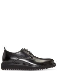 Chaussures derby en cuir noires Ann Demeulemeester