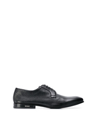 Chaussures derby en cuir noires Baldinini