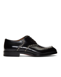 Chaussures derby en cuir noires Christian Louboutin