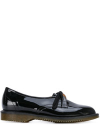 Chaussures derby en cuir noires Comme des Garcons